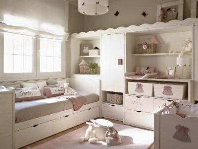 Habitaciones de beb ni a bona nit - Habitacion de nina bebe ...