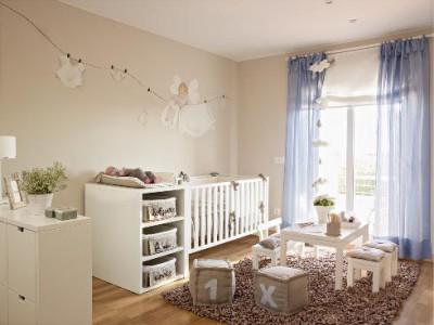 Decoraci n de habitaciones de beb en barcelona y madrid for Decoracion habitacion bebe pintura