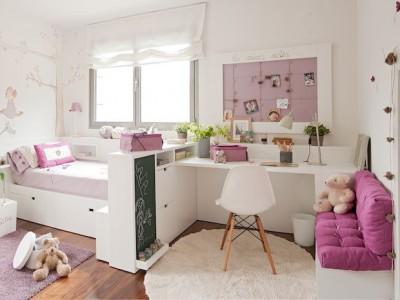 Habitaciones juveniles para ni as bona nit for Habitaciones juveniles nina