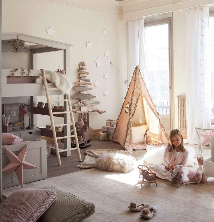 Decoraci n de habitaciones infantiles juveniles y de beb - Dormitorios infantiles con encanto ...
